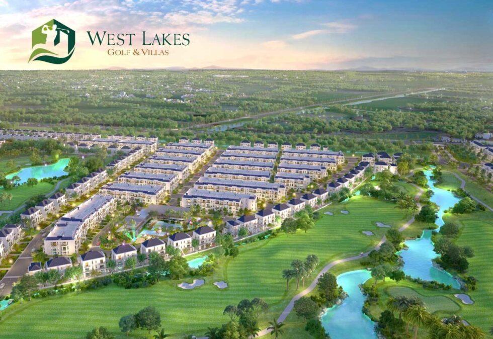 Đô thị sinh thái West Lakes Golf & Villas bậc nhất phía Tây TP HCM được bàn giao và hoàn thiện